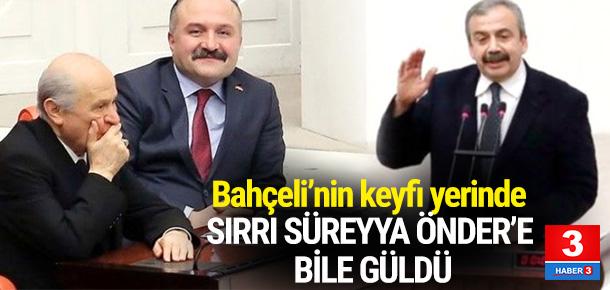 Sırrı Süreyya Önder'in sözleri Bahçeli'yi güldürdü