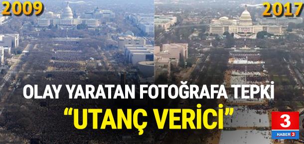 Beyaz Saray'dan fotoğraf tepkisi
