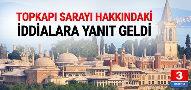 """Bakan Avcı'dan """"Topkapı Sarayı"""" açıklaması"""