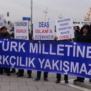 Türkistanlı muhacirlerden teröre tepki