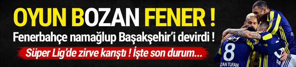 Fenerbahçe Başakşehir'i devirdi