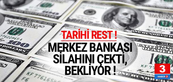 Merkez Bankası'ndan döviz resti