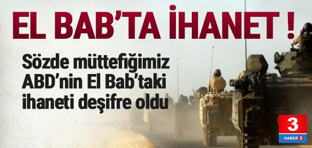 ABD, El Bab'ta Türkiye'yi yalnız bıraktı