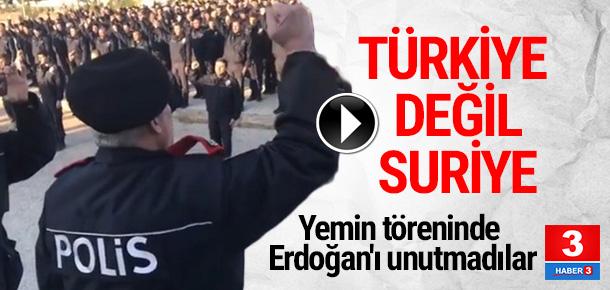 Türkiye'nin eğittiği Cerablus polisi böyle görüntülendi