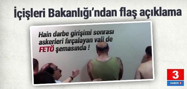 Hüseyin Avni Coş'un adı FETÖ araştırmasında iddiası yalanlandı