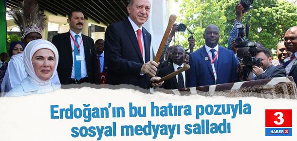 Erdoğan top atışlarıyla karşılandı
