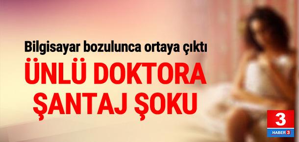 Bursa'da ünlü doktora şantaj !