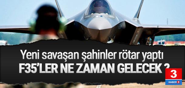 F-35 savaş uçaklarının teslim tarihi belli oldu