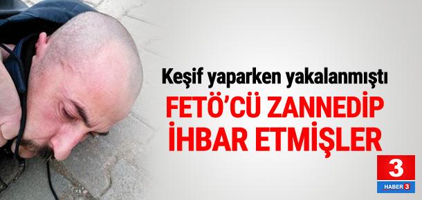 "DHKP-C'li teröristi ""FETÖ'CÜ"" zannedip ihbar etmişler"
