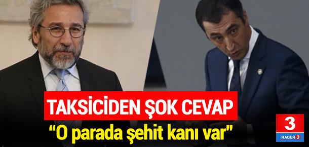 Cem Özdemir ve Can Dündar'a taksicilerden şok talep