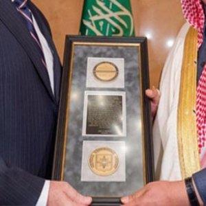 CIA Direktörü Pompeo 'dan Arabistan'a madalya