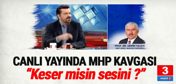 MHP'li Yalçın'dan canlı yayında sert tepki