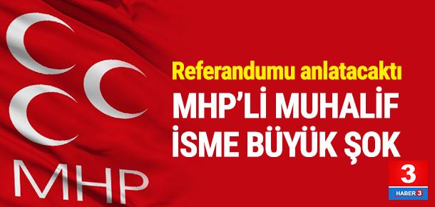 MHP'li isme büyük şok ! İptal edildi