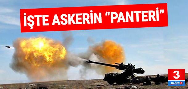 """40 kilometreden vuruyor ! İşte Askerin """"panteri"""""""