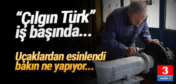 Türk mucit uçaklardan esinlendi...