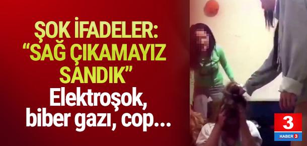 Trabzon'daki kızların kavgasında şok ifadeler