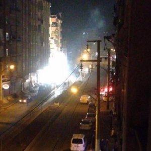 PKK'lı hainler havai fişekle saldırdı