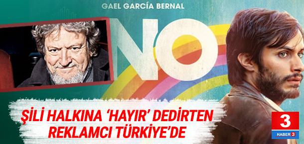Şili halkına 'hayır' dedirten reklamcıdan mesaj var