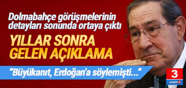 ''Büyükanıt Erdoğan'a söylemişti''