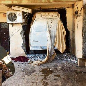 Bombalı araçları evlerde saklamışlar