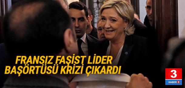 Le Pen ile müftü arasında başörtüsü krizi