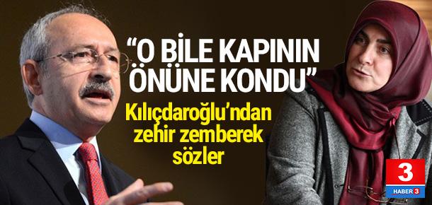 Kılıçdaroğlu hükümete yüklendi