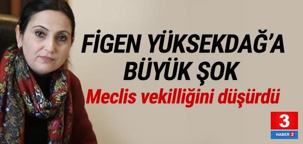 Yüksekdağ'ın milletvekiliği düşürüldü