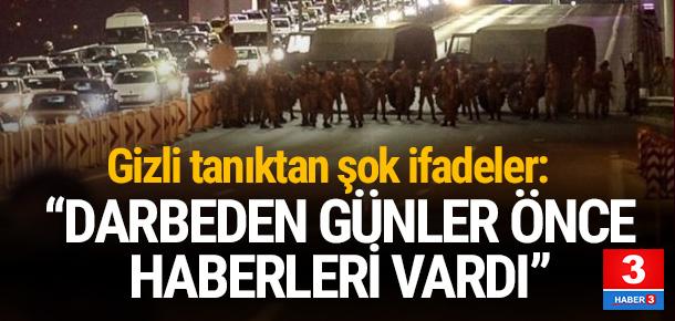 Darbe iddianamesinden: PKK'nın haberi vardı