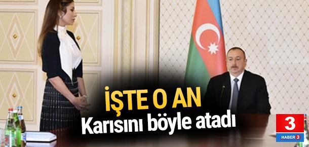 İlham Aliyev karısını yardımcısı olarak atadı