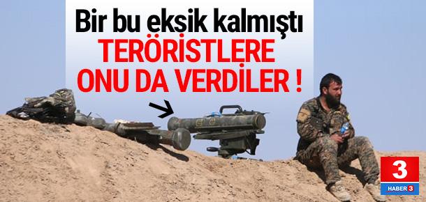 YPG'liler tanksavar füzeleriyle görüntülendi