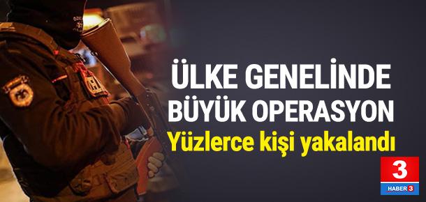 Türkiye'de büyük operasyon !
