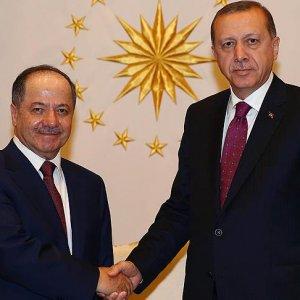 Erdoğan pazar günü Barzani'yi kabul edecek