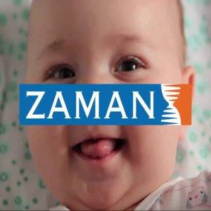 Zaman'ın gülen bebek reklamı tesadüf değilmiş