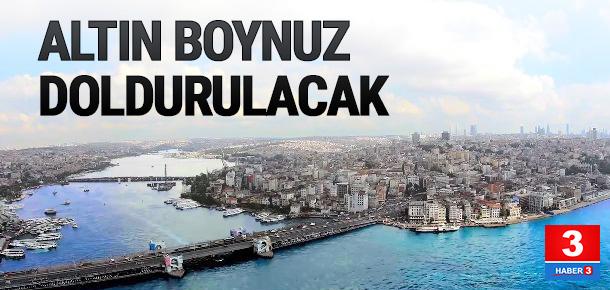 Haliç'e Yat Limanı ve Kompleksi dolgusu