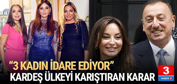 Aliyev'in eşiyle ilgili kararı ülkeyi karıştırdı