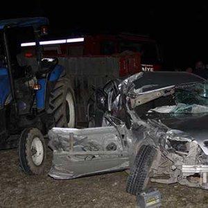 Samsun'da feci kaza ! Ölü ve yaralılar var