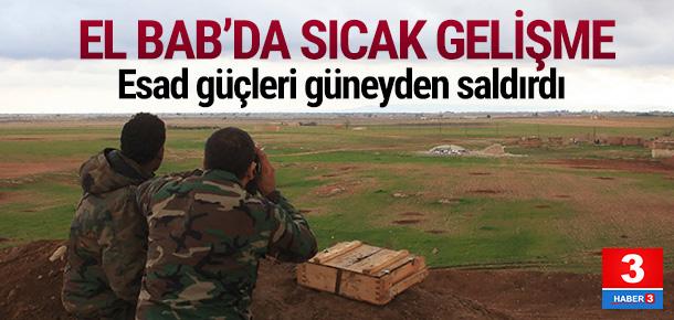 Suriye ordusu El Bab'da operasyon düzenledi