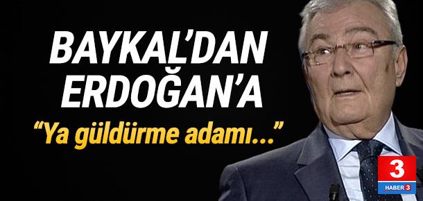 Baykal'dan Erdoğan'a sert sözler