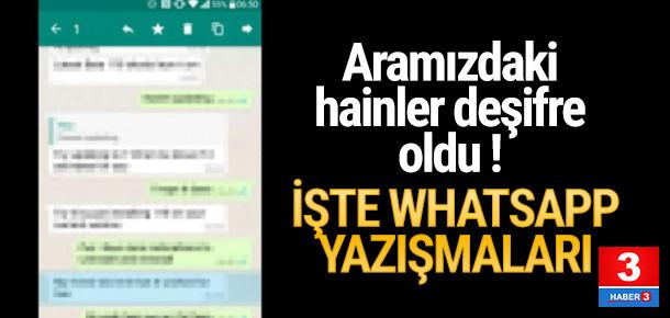 DEAŞ'lı teröristlerin Whatsapp mesajları ortaya çıktı
