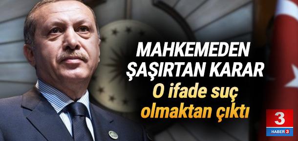 Mahkemeden Erdoğan'a hakaret davasında şok karar