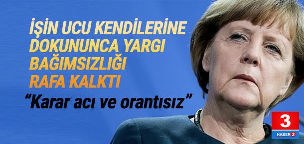 Merkel, Deniz Yücel'in tutuklanmasını eleştirdi