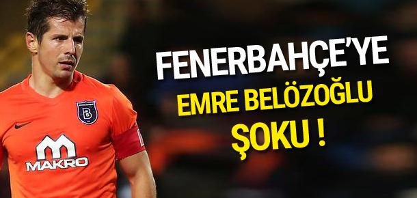 Emre Belözoğlu Fenerbahçe'nin planını bozdu !
