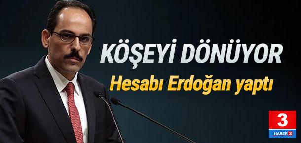 Erdoğan'ın en yakınındaki isim köşeyi dönüyor