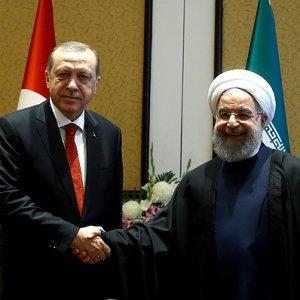 Erdoğan Ruhani ile baş başa görüştü
