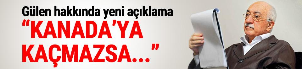 Bakan Eroğlu'ndan Gülen açıklaması
