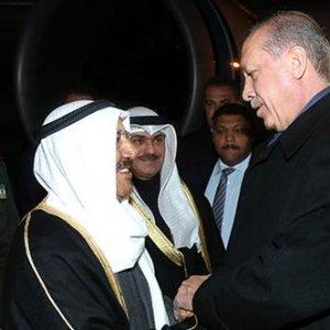 Erdoğan'dan Kuveyt Emiri el Sabah'a jest