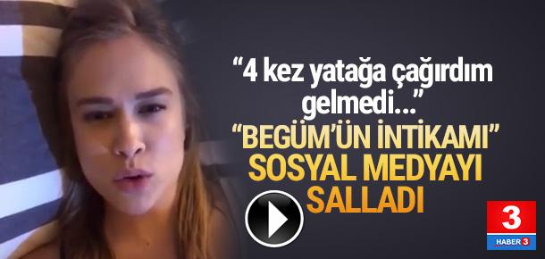 Begüm Öner'in Ceyhun Fersoy'dan intikamı