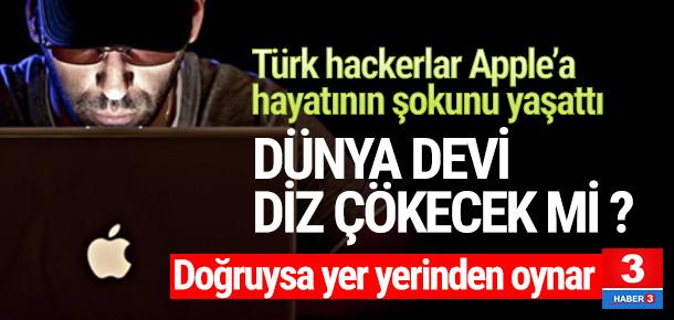Türk hacker'lar Apple'a hayatının şokunu yaşattı