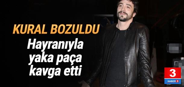 Ahmet Kural hayranıyla yaka paça kavga etti