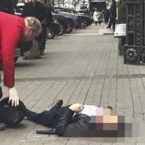 Kiev'de şok saldırı ! Sokak ortasında öldürüldü